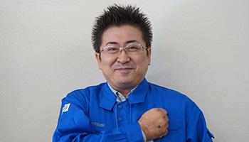 営業2課 係長 熊谷 俊人(くまがい しゅんと)