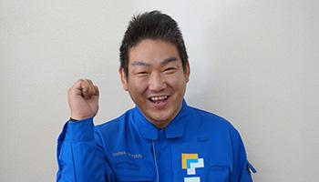 営業1課 係長 坂口 桂太(さかぐち けいた)